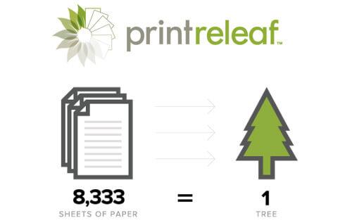 Annonce de PrintReleaf Partenariat