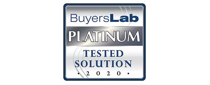 MPS Monitor 2.0 reçoit la note Platine de Buyers Laboratory
