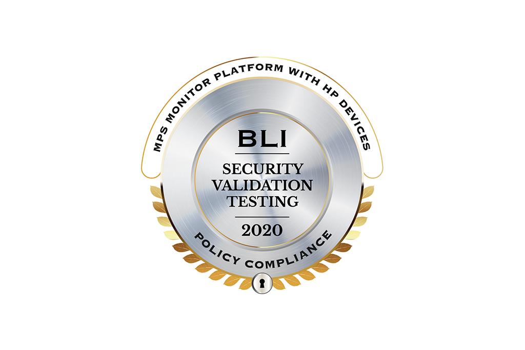 MPS Monitor 2.0 obtient le label de réussite au Test de validation de la sécurité de BLI pour sa Conformité aux politiques de Keypoint Intelligence-Buyers Lab