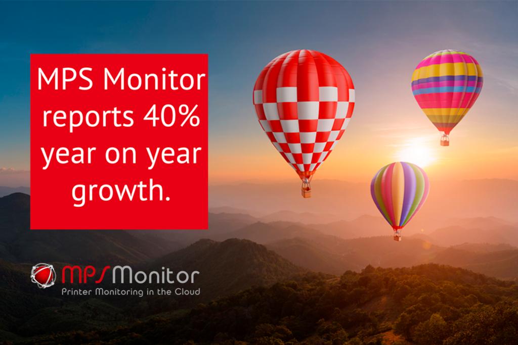 MPS Monitor annonce une croissance de 40 % par rapport à l'année précédente