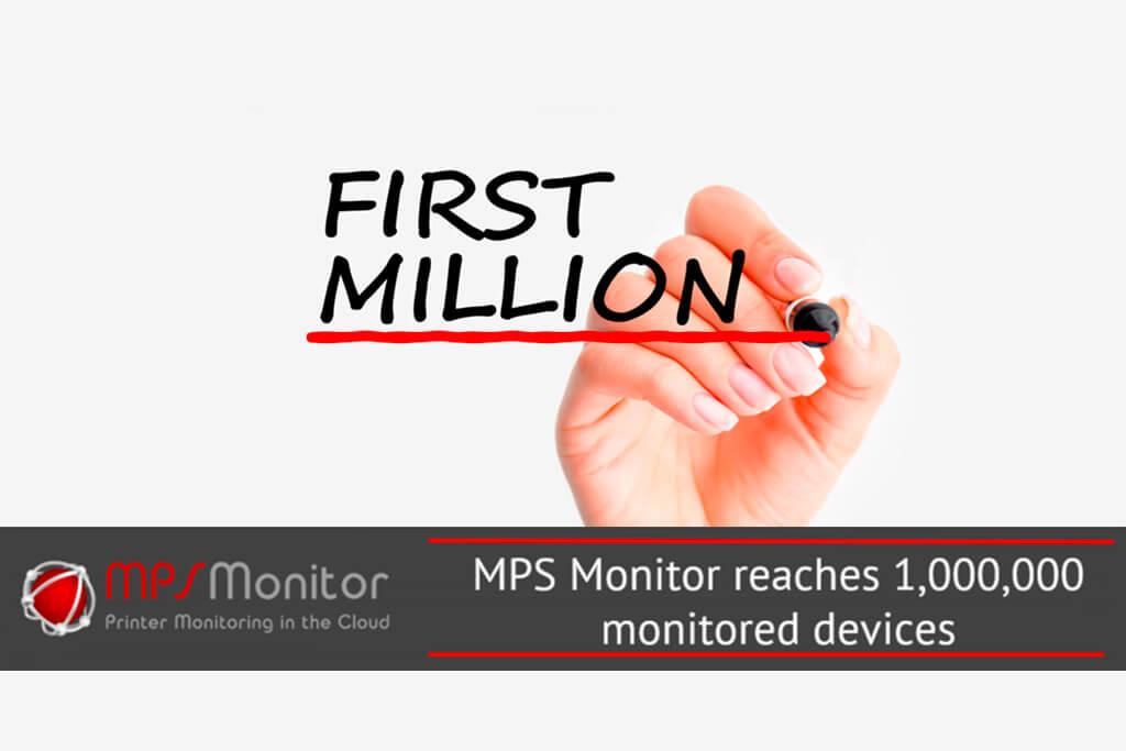 Un million de périphériques d'impression désormais surveillés par MPS Monitor