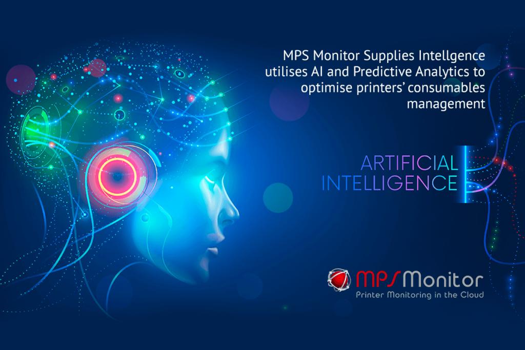 Le Supplies Intelligence de MPS Monitor utilise l'IA et l'analyse prédictive pour optimiser la gestion des consommables